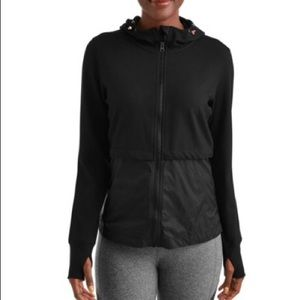 NWT Athletic Works Active Knit Woven Jacket